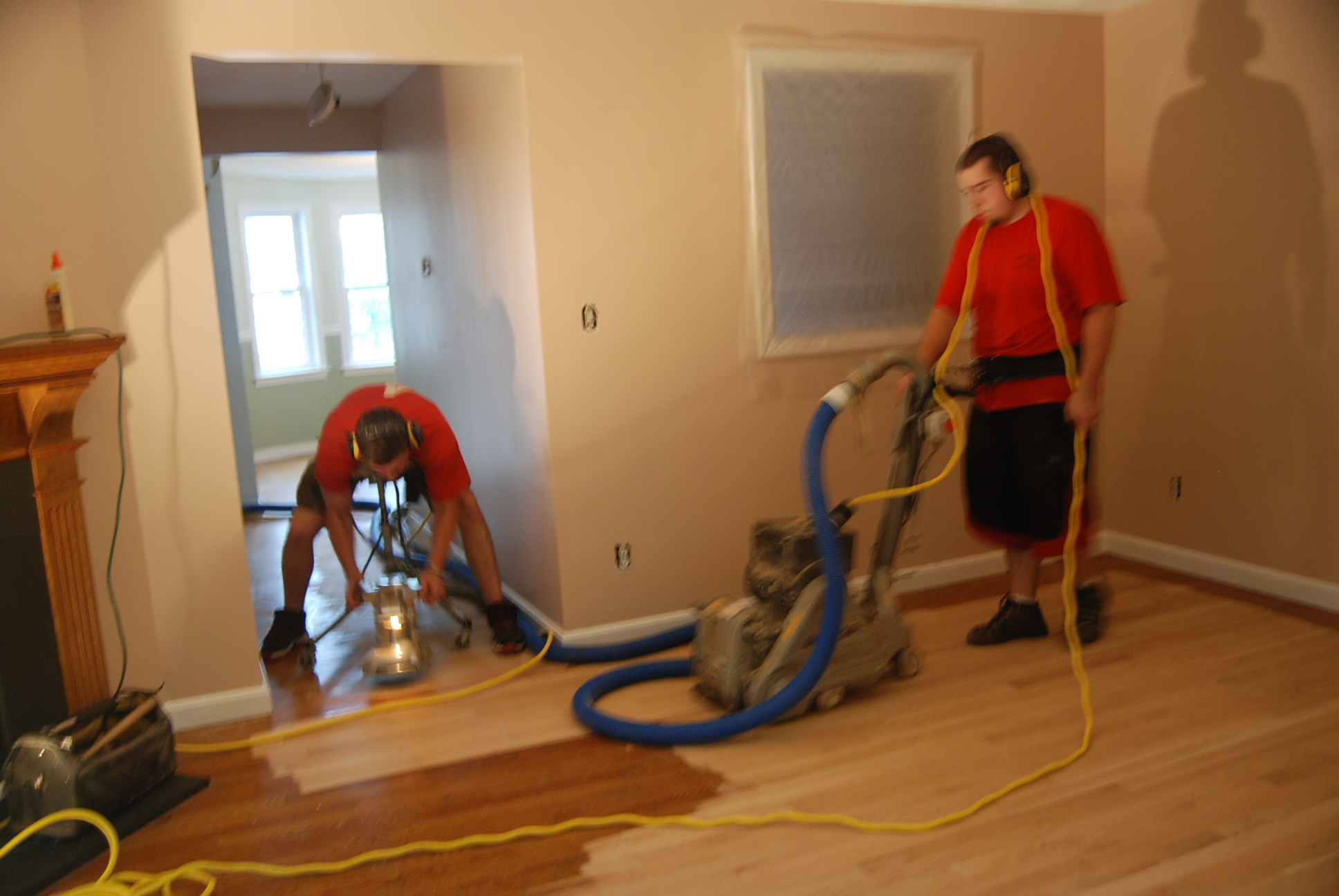dustless_floor_sanding_Mass_NH_Hardwood_refinishing